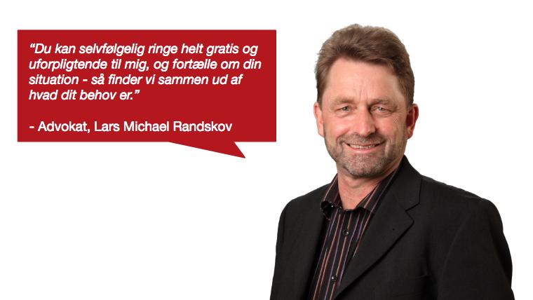 Forsidebillede Advokat Lars Michael Randskov